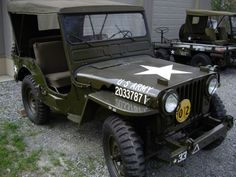 Willys M38 Jeep with PTO. They just don't make them like they used to.