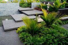 Imagenes de paisajes de jardines modernos – 25 diseños