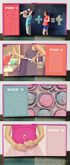 I love the first picture - to announce a second pregnancy :)  Will need to do something similar!
