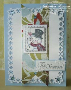 Bellisima Vida: Monday With Prickley Pear Rubber Stamps