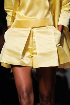 Love the shorts: Ermanno Scervino Spring 2014