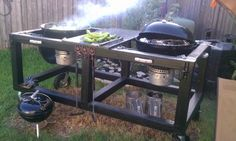 Anyone know of a Weber Kettle Table Mod? - Page 2 - The BBQ BRETHREN FORUMS.