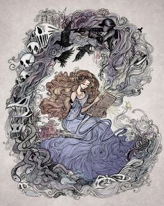 Love this > Pandora by La-Chapeliere-Folle http://www.deviantart.com/art/Pandora-545842888?utm_content=buffer1f82d&utm_medium=social&utm_source=pinterest.com&utm_campaign=buffer #drawings #fantasy