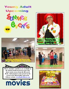 Young Adult Summer Events at the Palm Coast Library ~ 2016   Flagler County Family Fun