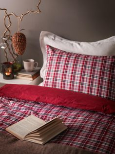I have a thing for plaid...so cozy.