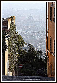 Veduta di Firenze dalla collina di Fiesole | da Matteo Bimonte