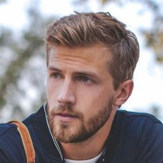 Short Sides with Messy Long Top and Beard #blackhairstylesformen #messyshorthairstyles