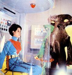 Akane from Captain Ultra アカネ隊員とバンデル星人 キャプテンウルトラ