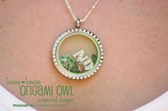 Notre Dame fan?  Tell everyone with your Origami Owl Living Locket!    www.tammy.origamiowl.com