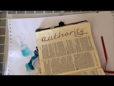 Simple tools for a Creative Page - with Sarah Anderson - YouTube