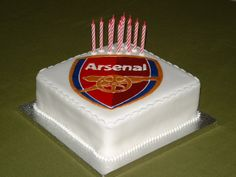 Runout cake for an Arsenal fan!