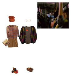 """""""Precariously holding you"""" by bloss-em ❤ liked on Polyvore featuring MiH Jeans, Doncaster, Retrò and Dr. Martens"""
