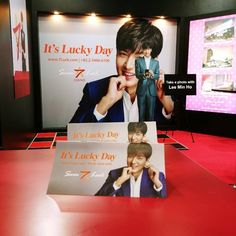 Lucky Day, Lee Min Ho, Minho, How To Take Photos, Take That, Japan, Movie Posters, Movies, Image