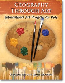 Geography Through Art, maybe great for those young gifted students who are great at art, or for all