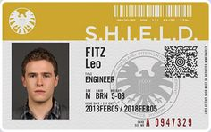 Agent Leo Fitz is skilled in the technical side of weaponry.