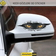 Kedi Gözleri 3D Oto Sticker Uygun Fiyat Avantajı ile Otomarketin' den Satın Almak İçin Tıklayın!