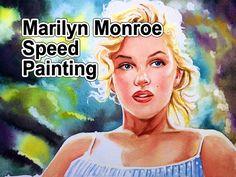 Marilyn Monroe Speed Painting