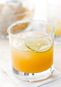 Orange Margarita cocktails - a Mexican-inspired cocktail for year 'round refreshment