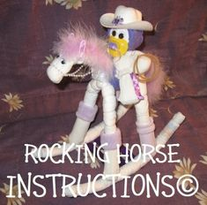 Diaper+ROCKING+HORSE+INSTRUCTIONS.+Great+for+by+DiaperZooDesigns,+$8.99