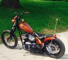 Sporty Bobber #motorcycles #bobber #motos | caferacerpasion.com