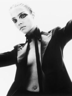 Natalia Vodianova by Steven Meisel for Vogue Italia 2002