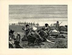 Circassian Cavalry, Presumably Cossack Division of Russian army