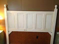 The Shabby Homestead: DIY Door Headboard