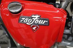 OldMotoDude: 1974 Honda/Rickman CR750 on display at the 2018 Denver Motorcycle Expo