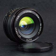 Optomax 28mm f2.8 Wide Angle Lens Olympus OM Mount DSLR Adaptable EOS BMCC