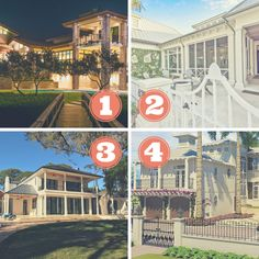 First impressions are everything for a home. Which exterior would you prefer? Longboat Key, Waterfront Homes, Nautilus, Home Builders, Home Projects, Custom Homes, Icon Design, Luxury Homes, Exterior