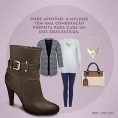 pcdi.ly/mylookbeta  #mylooks #lookdodia #inspiração #trend #fashion #moda #shoes #boots #sapatos
