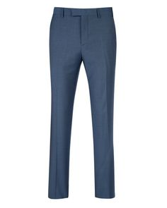 Wool pant - Blue | Suits | Ted Baker