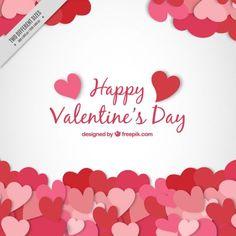 Valentine background with hearts Free Vector Apple Logo, Valentines Design, Happy Valentines Day, Samhain, Leaves Illustration, Valentine Background, Sale Banner, Jolie Photo, Background Patterns