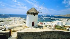 Mykonos is a Greek Island in the heart of the Cyclades. According to Greek mythology, Mykonos was formed from the petrified bodies of the giants that Hercules had killed, but today, the island is known for its beaches, white buildings and a vibrant nightlife. (Jupiterimages)   50 Amazing Mediterranean Destinations You Have To See (PHOTOS)   The Weather Channel