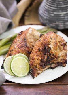 Grilled Thai Chicken | Ban Boring Chicken