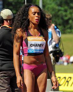 Jasmine Chaney (USA), 100 m Hurdles See more photos on:http://www.bopressphoto.com/07062015---iaaf-diamond-league-birmingham-2015.html