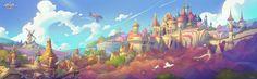 The Art Of Animation, Gao ZhiPing - http://drawcrowd.com/bigballgao...