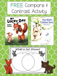 FREEBIE:  Compare and Contrast Featuring Keiko Kasza
