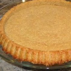 "Pecan Nut Crust | ""I'm so glad to find a gluten-free pie crust. My family (even my 9 year old) loved it. """