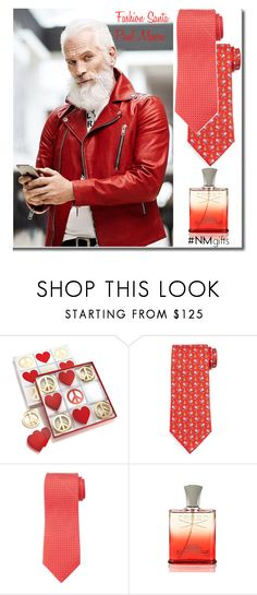 """The Holiday Wish List With Neiman Marcus: Contest Entry"" by yours-styling-best-friend ❤ liked on Polyvore featuring Jonathan Adler, Salvatore Ferragamo, Isaia, Creed and Neiman Marcus"