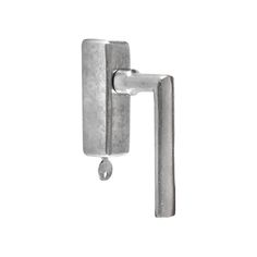 Pure Ph1930/DKS window handle with key in Satin White Bronze (WBS). More on www.dauby.com