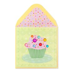 Beaded Cake With Gem Candles Gorgeous Papyrus Greeting Card Happy birhtday