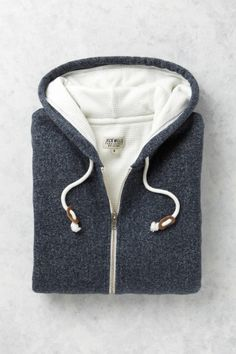 The Penshaw Core Waffle Lined Zip Hoodie | Jack Wills