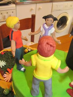 #Cakedesign: #Bambini in #pastadizucchero