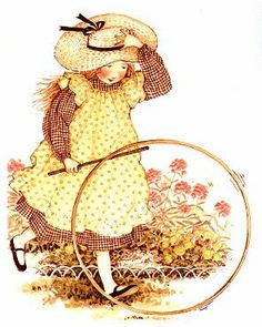 holly hobbie...old-fashioned fun