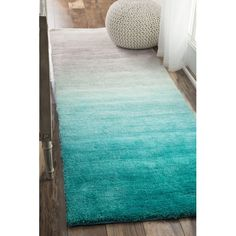 Found it at Wayfair - Sivir Turquoise Area Rug