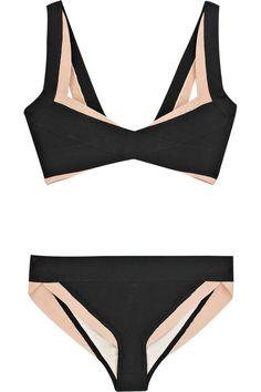 Hervé Léger Julienne bikini - Bikini Underwear - Ideas of Bikini Underwear Bikini Vintage, Lingerie Fine, Jolie Lingerie, Fashion Mode, Look Fashion, Womens Fashion, Milan Fashion, Mode Style, Style Me