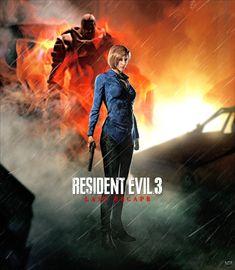 Resident Evil 3 - Last Escape by https://www.deviantart.com/litoperezito on @DeviantArt