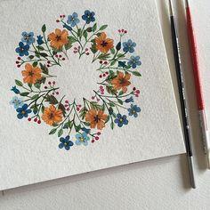 flowery circle (claudia calderas)