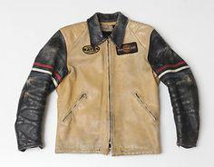 60 s racing jacket Cuir, Accessoires, Vestes En Cuir, Veste En Cuir Vintage, 838910e34ae